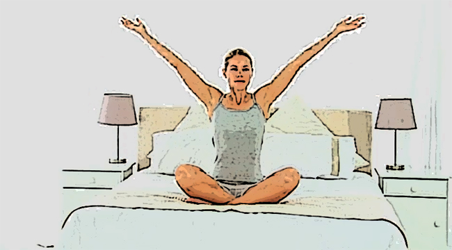 woman performing yoga exercise