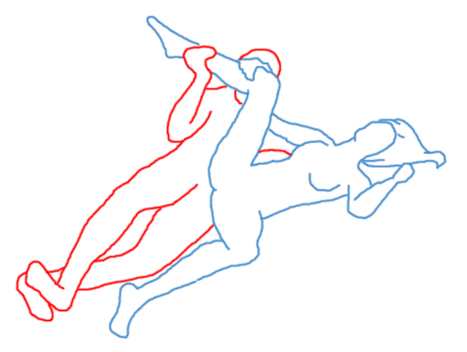 lying down sex position