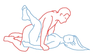 man on top sex position