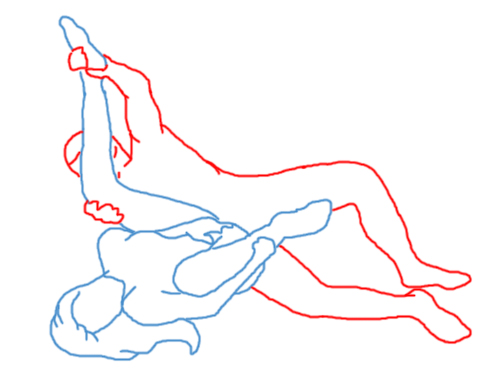 sideways sex position