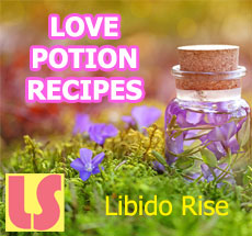 16 love potions - libido rise
