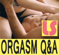 Orgasm questions and answers